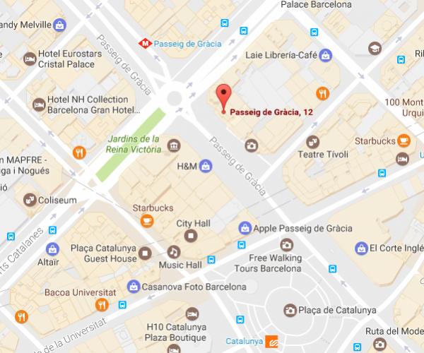 Centro Paseo de Gracia Dirección